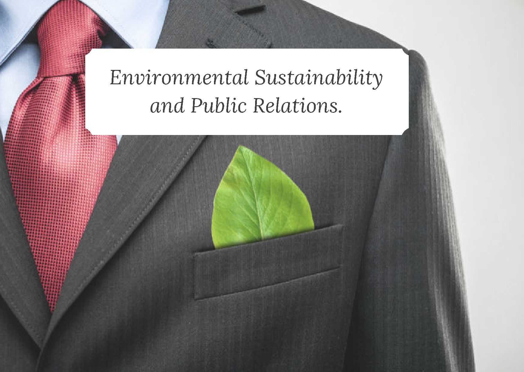 Environmental Sustainability, public relations | CSE, Sustainability Academy, sustainability reporting