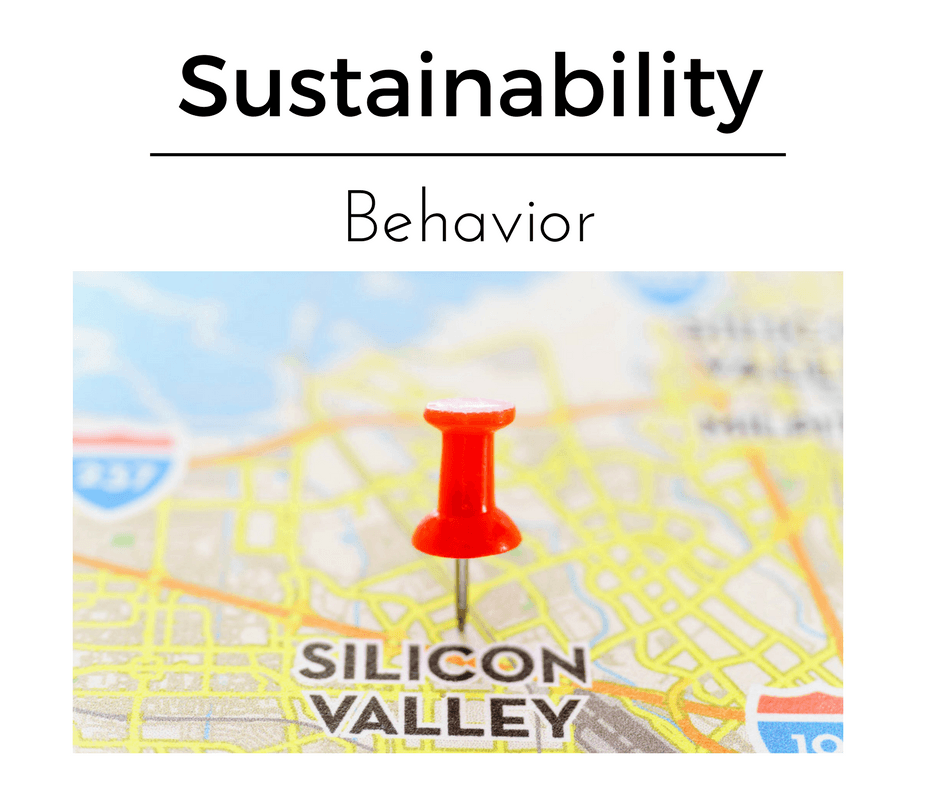 sustainability behavior, silicon valey | CSE, CSR, Sustainability academy, education, employment