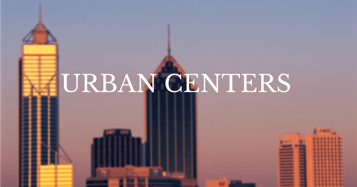 Urban Centers | CSE, Sustainability, CSR,