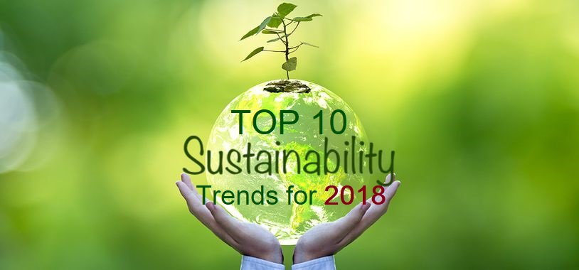 Top 10 Tech Cars To Watch For In 2018: Top 10 Sustainability Trends For 2018